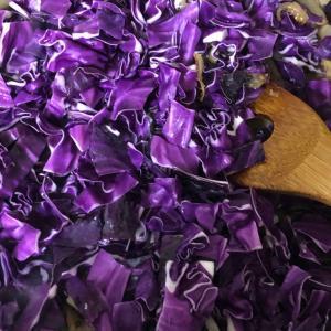 紫キャベツのチキンビネガーカレー