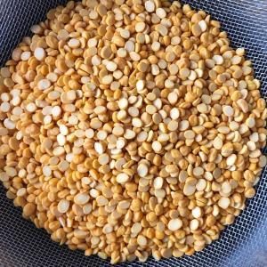 ひよこ豆とチキンの青唐カレー