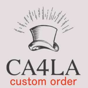 【CA4LA】世界で一つ、自分だけの帽子を。カシラのカスタムオーダーで注文した、オリジナルブレードハットを公開🎩その出来栄えは??