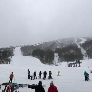 今、滑走距離、日本一のスキー場所