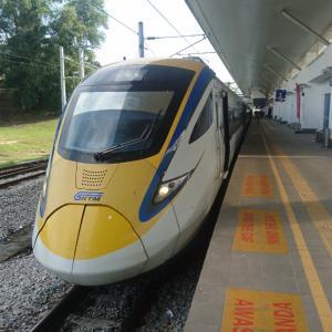 マレーシアの鉄道に乗る3【パダンブサール~KLセントラル】