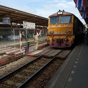 タイの鉄道に乗る34【普通445列車スラータニ~ハジャイ】