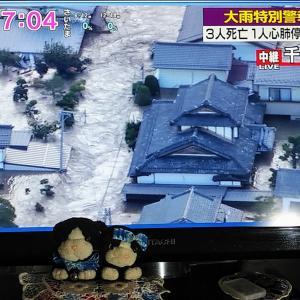 台風19号・。