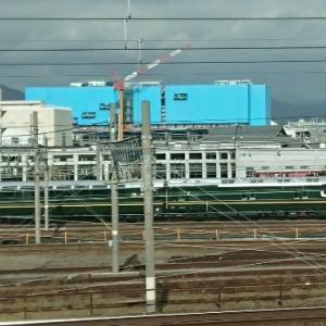 トワイライト車両が屋外へ!京都鉄道博物館