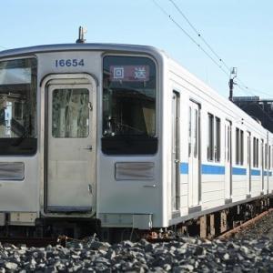東武野田線向けに10050系トップナンバー転属工事中・・・