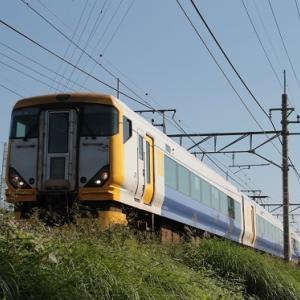 中央線夜行運転!E257系500番台が営業運転で篠ノ井線経由で長野へ