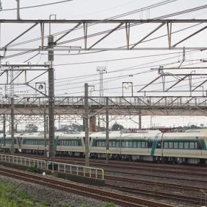 最後の秩父三ヶ尻線は空振りの東武500系リバティ甲種・・・、熊谷タではヲキとの並び!