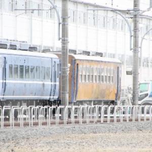 東武12系客車整備開始?!ブルーシートが外され・・・