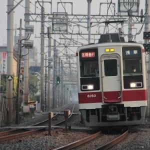 東武6050系3編成が廃車回送、北館林へ・・・