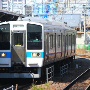 JR九州 長崎本線 415系 長崎駅