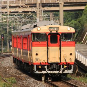 【特集・検査明け】 JR九州 長崎本線 キハ66・67形 国鉄色 1番ユニット 喜々津駅