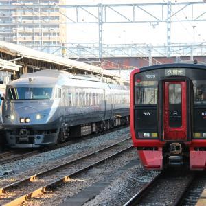 【バルーンフェスタ臨】 JR九州 長崎本線 787系 特急みどり 鳥栖駅