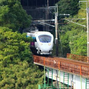 JR九州 長崎本線 885系 特急白いかもめ 「サガン鳥栖ラッピング」 現川~肥前古賀