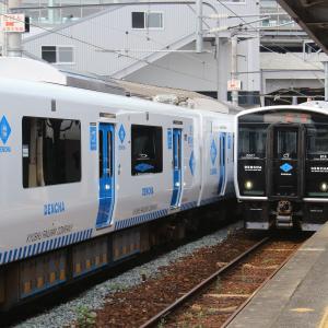 JR九州 若松線 BEC819系 折尾駅