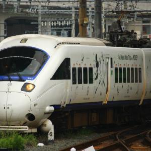 JR九州 長崎本線 885系 特急白いかもめ 「Waku Waku Trip 885系」 長崎駅