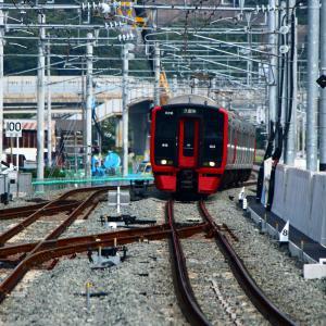 JR九州 鹿児島本線 813系 折尾駅