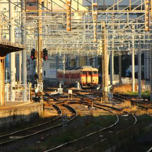 【国鉄色4両編成】 JR九州 長崎本線 キハ66・67形 国鉄色4両編成 長崎駅