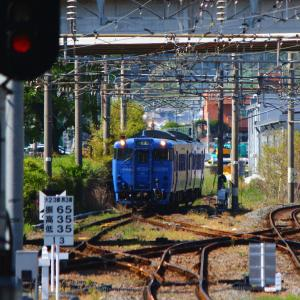 JR九州 大村線 キハ66・67形 SSL色 諫早駅