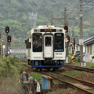 【有田陶器市臨】 MR松浦鉄道 西九州線 MR600形 有田~三代橋