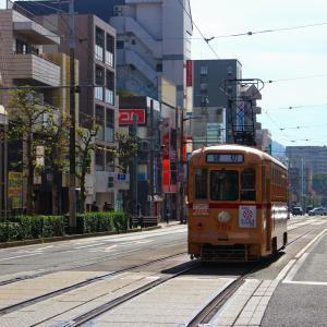 長崎電気軌道 本線 700形 701号 路面電車まつり・遊覧電車 昭和町通電停