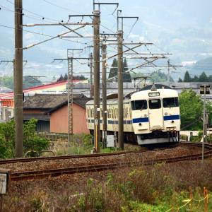 【有田陶器市臨】 JR九州 佐世保線 415系 回送列車 西有田(信)~有田