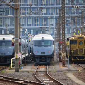 JR九州 長崎本線 キロシ47形 SWEET TRAIN『或る列車』 長崎駅