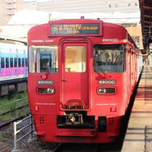 JR九州 長崎本線 キハ220&200形 長崎駅