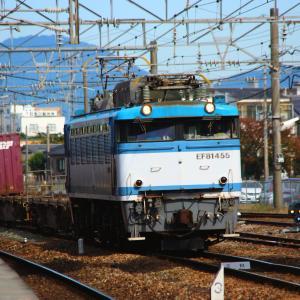 JR貨物 鹿児島本線 EF81形 コンテナ編成 鳥栖駅