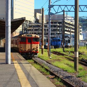 【国鉄色&国鉄色】 JR九州 長崎本線 キハ66・67形 国鉄色 長崎駅