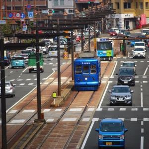 長崎電気軌道 本線 300形 310号 みなと 浦上駅前電停