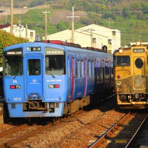 JR九州 大村線 キロシ47形 SWEET TRAIN『或る列車』 彼杵駅