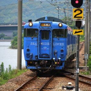 JR九州 大村線 キハ66・67形 SSL色 ハウステンボス駅