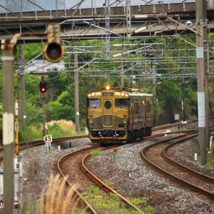 JR九州 長崎本線 キロシ47形 SWEET TRAIN『或る列車』 喜々津駅