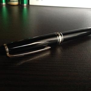使いづらいけど、モンブランマイスターシュテュックボールペンを持て!