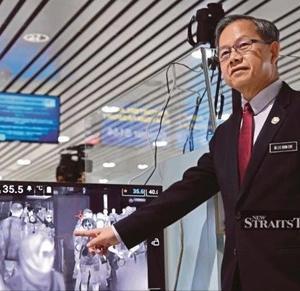【コロナウイルス関連】マレーシアの飛行場で「旅行者チェックを開始」
