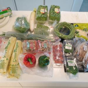 紹介してもらった「ショップカー」の野菜が素晴らしい~~
