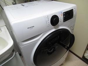 ドラム式洗濯機、乾燥機能無し