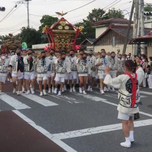 山あげ祭りは無観客(2021年その2)