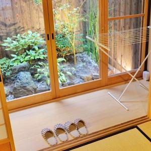 Airbnb@京都!リノベーション済み古民家に子連れ大家族で宿泊しました。