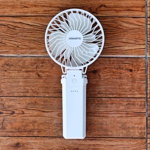 【レビュー】JOMARTO携帯扇風機。真夏に赤ちゃんと外出するなら持っておきたいハンディファン。
