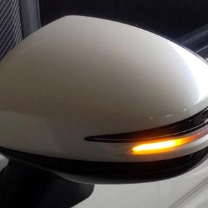 [DIY] ドアミラーのウンイカーをシーケンシャルに交換:車検対応確認済