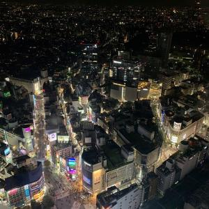 台湾人weekend初日・焼肉DAICHI六本木・渋谷スクランブルスクエアの渋谷スカイへ