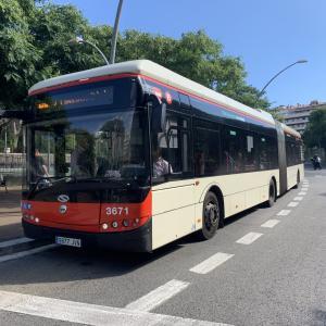 スペインでバスに乗ってみた&銀行口座開設!