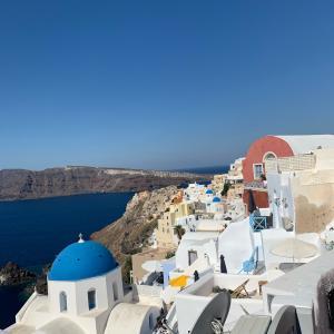 【旅行記:ギリシャ・サントリーニ島3】短時間でも意地でも見たい景色