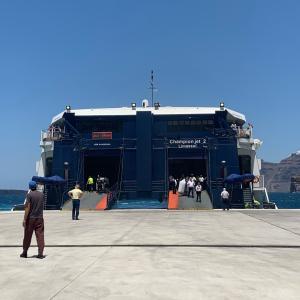 【旅行記:ギリシャ・サントリーニ島からミコノス島へ】再びフェリー