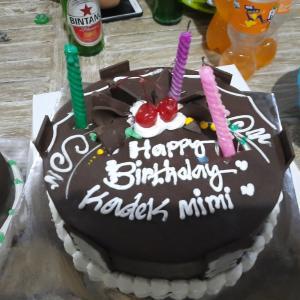 2020年7月9日(木)  娘の18歳の誕生日
