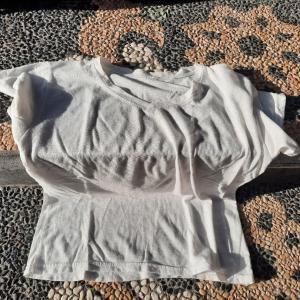 2020年8月5日(水)  自宅でTシャツをリメイク
