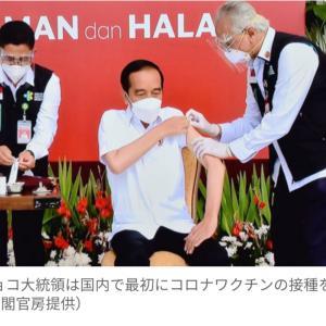 コロナによるインドネシアの現状とワクチン接種スタート!