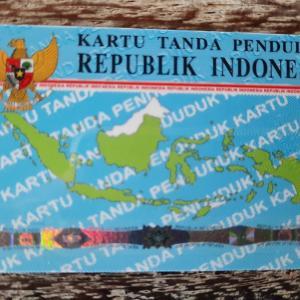 一生更新不要のインドネシアの身分証明書(KTP)をゲットしました〜!@バリ島