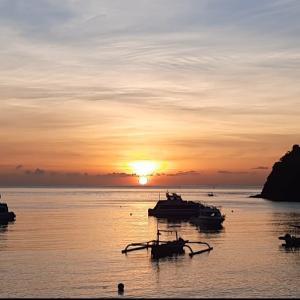 お部屋から最高の朝日!@バリ島アメッド